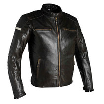 Richa Daytona Leather Motorcycle Jacket - Brown