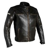 Richa Daytona Leather Motorcycle Jacket - Brown