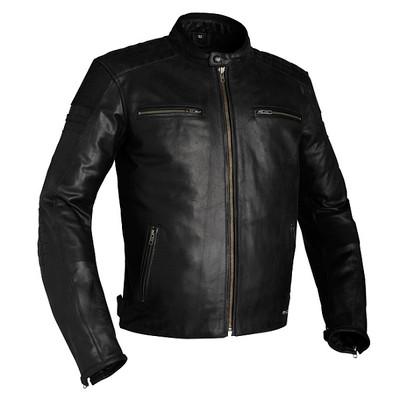 Richa Daytona Leather Motorcycle Jacket - Black