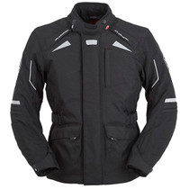 Furygan WR-16 Waterproof Textile Motorcycle Jacket - Black