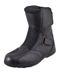 DOJO Denjo Waterproof Motorcycle Boots - Black