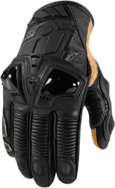 Icon Hypersport Pro Short Gloves - Stealth