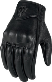 Icon Pursuit Touchscreen Gloves - Non-Perforated Stealth