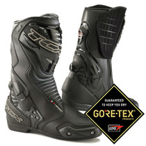 TCX S-Speed Gore-tex Sports Motorcycle Boots - Black