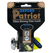 Oxford Patriot Ultra Strong Disc Lock