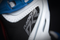 Icon Raiden DKR Waterproof Boots - Blue / Red / White