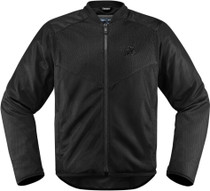 Icon Anthem 2 Mesh Textile Motorcycle Jacket - Black