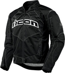 Icon Contra Textile Motorcycle Jacket - Black
