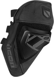 Icon Cloverleaf Knee Armour - Black