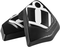 Icon Cloverleaf Replacement Kneepuck - Black
