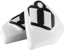 Icon Cloverleaf Replacement Kneepuck - White