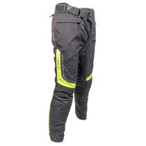 Richa Colorado Textile Motorcycle Trousers - Black / Flou Yellow