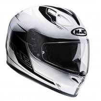 HJC FG-ST Bolt Helmet - White / Black