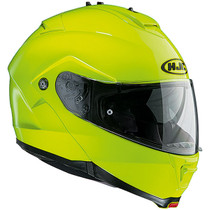 HJC IS-MAX 2 Flip Front Motorcycle Helmet - Flou Yellow
