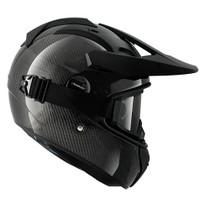 Shark Explore R Helmet - Carbon Skin / Black / Silver