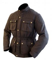 ARMR Moto Komura Textile Waterproof Motorcycle Jacket - Black