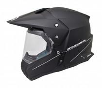 MT Synchrony DS SV Dual Sport Motorcycle Helmet - Matt Black