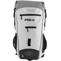 Oxford Aqua B25 All Weather Motorcycle Back Pack - White / Grey