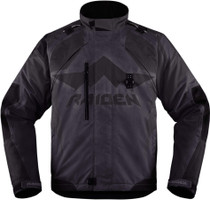 Icon Raiden DKR Textile Adventure Motorcycle Jacket - Black