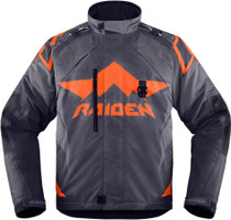 Icon Raiden DKR Textile Adventure Motorcycle Jacket - Slate