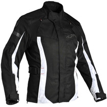 Richa Biarritz Textile Touring Ladies Jacket - Black / White