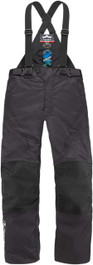 Icon Raiden DKR Waterproof Textile Motorcycle Trousers - Black