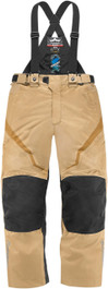 Icon Raiden DKR Waterproof Textile Motorcycle Trousers - Tan