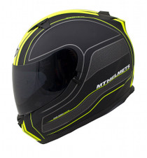 MT Blade Raceline Full Face Helmet - Matt Black / Yellow