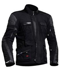 Halvarssons Prime Textile Motorcycle Jacket - Black