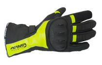 ARMR Moto WPL250 Waterproof Gloves - Black / Yellow