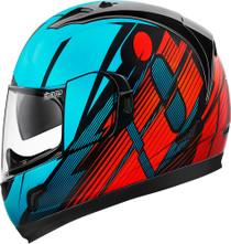 Icon Alliance GT Primary Helmet - Blue / Red