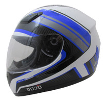 DOJO Imola Overcome Helmet - Black / Blue