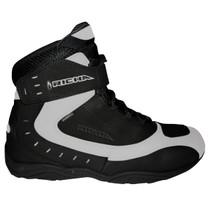 Richa Slick Waterproof Short Paddock Boots - Black / White