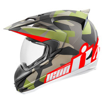 Icon Variant Deployed Helmet - Green