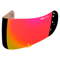 Icon Airmada / Airframe Pro Optics Visor - Fog Free - RST Red