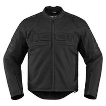 Icon Motorhead 2 Jacket - Stealth Black