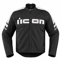 Icon Motorhead 2 Jacket - White