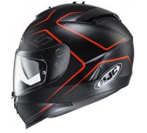 HJC IS-17 Lank Helmet - Black / Red