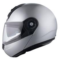 Schuberth C3 Basic Flip Front Helmet - Silver