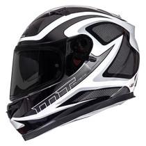 MT Blade SV Morph Helmet - White / Black / Grey