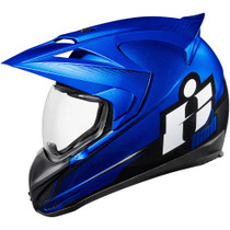 Icon Variant Double Stack Helmet - Blue