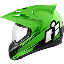 Icon Variant Double Stack Helmet - Green