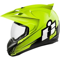 Icon Variant Double Stack Helmet - Hi-Viz Yellow