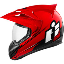 Icon Variant Double Stack Helmet - Red