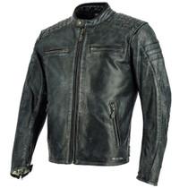 Richa Daytona 60's Leather Jacket - Black
