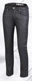 Bull-it SR6 Ladies Oil Skin Covec Jeans - Black