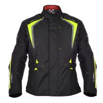 Oxford Subway 3.0 Textile Jacket - Black / Flou Yellow