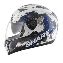 Shark S700S Squad Helmet - White / Black / Blue