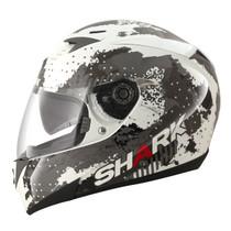 Shark S700S Squad Helmet - White / Black / Red