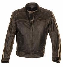 Richa Retro Racing Leather Jacket - Brown